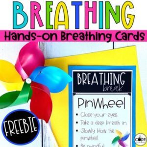 mindful hands-on breathing cards freebie