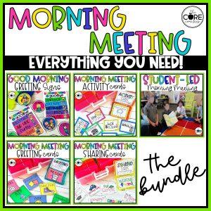 Back-To-School Morning Meeting Bundle