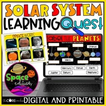 Solar System Lesson Plans 1st - 2nd Grade
