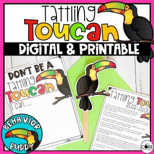 Tattling Toucah Digital & Printable Activities