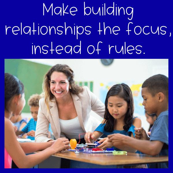 build positive relationships