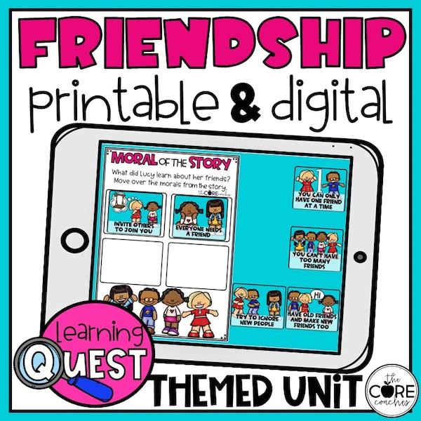 digital friendship learning quest