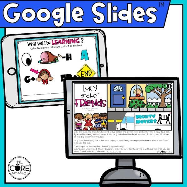 google slides activities for first grade