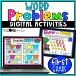 math word problems 1st and 2nd graders